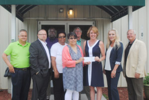 First Financial Donation May 2016